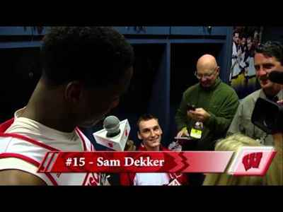 Wisconsin Basketball: Nigel Hayes Interviews Teammates