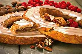 O&H Danish Bakery Pecan and Raspberry Kringle